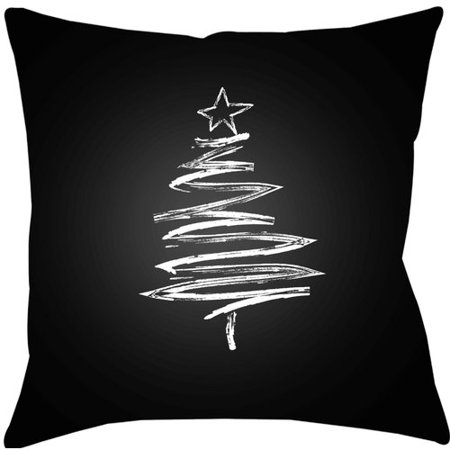 The Holiday Aisle Trim The Tree Indoor Outdoor Throw Pillow
