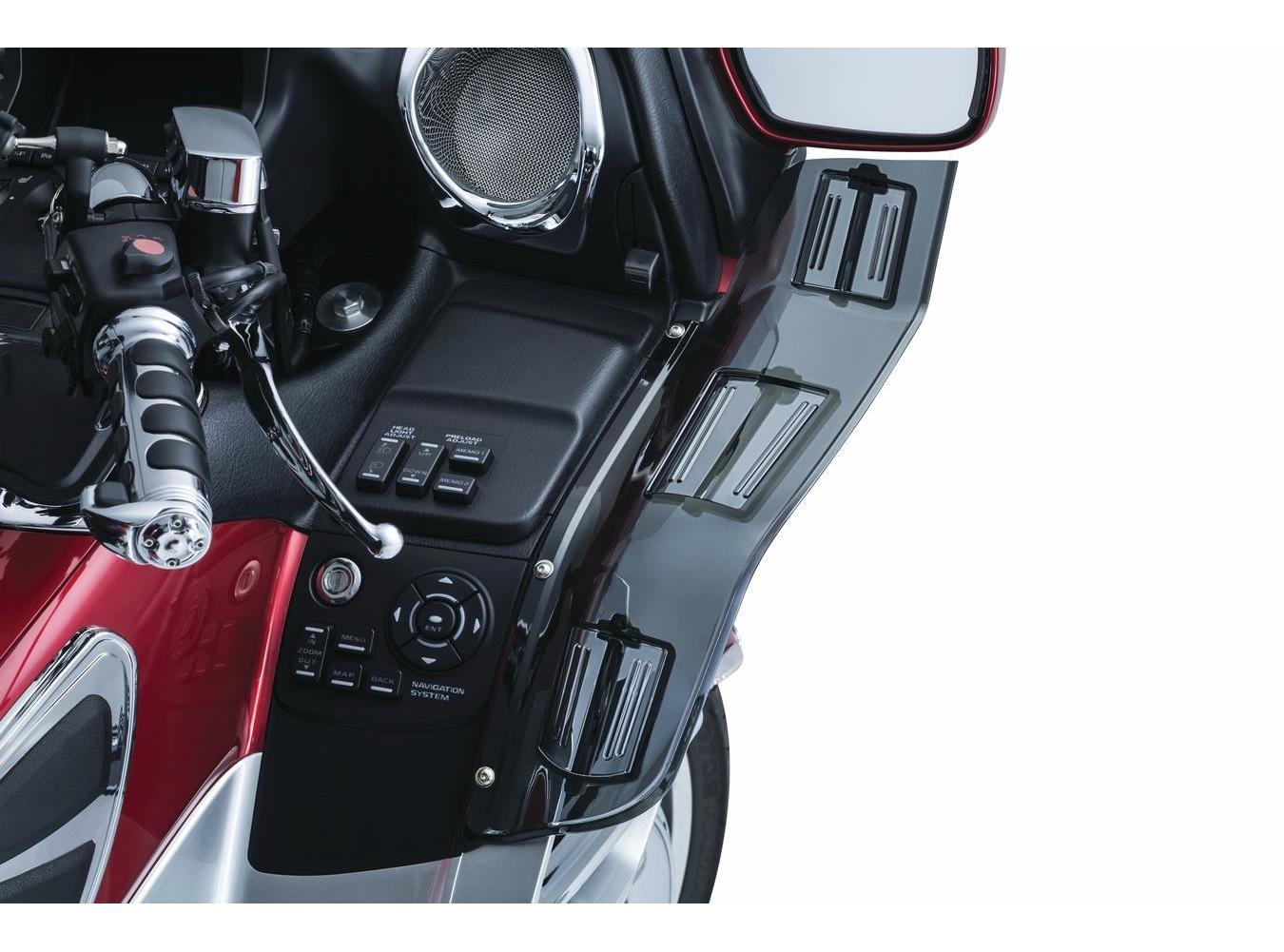 2006-2008 Honda GL1800P Gold Wing Premium Audio Wing Deflectors GL1800