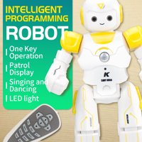 Tuscom Intelligent JJRC R12 Remote Control Programmable Song/ Dance RC Robot Toy