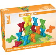 Tall-Stackers Mighty Monkey Pegs & Pegboard Set