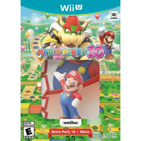 Nintendo Mario Party 10 and Mario Amiibo (Wii U)](Party D Halloween Jeux)