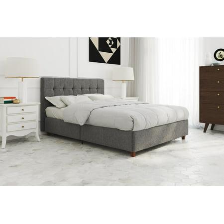 Painted Platform (Better Homes & Gardens Porter Upholstered Platform Bed, Multiple Sizes, Multiple Colors)