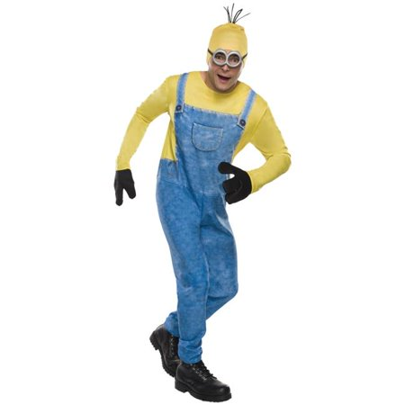Morris Costumes RU810464 Minion Kevin Standard Adult Costume](Kevin Costume)