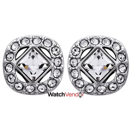 Swarovski Angelic Rhodium Plated Square Earrings 5368146 Canada