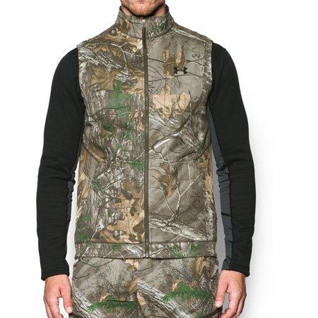 - Under Armour Men's Threadborne Scent Control Fleece Vest XXX-Large RealTree Xtra
