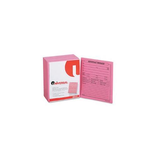 Important Message Pink Pads, 4-1/4 x 5-1/2, 50/Pad, 1/Dozen