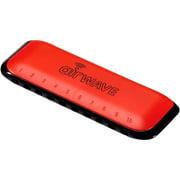 Suzuki Airwave Harmonica (Key of C) Red