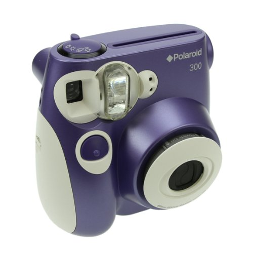 Polaroid PIC-300 Instant Film Analog Camera - (Color - Purple)