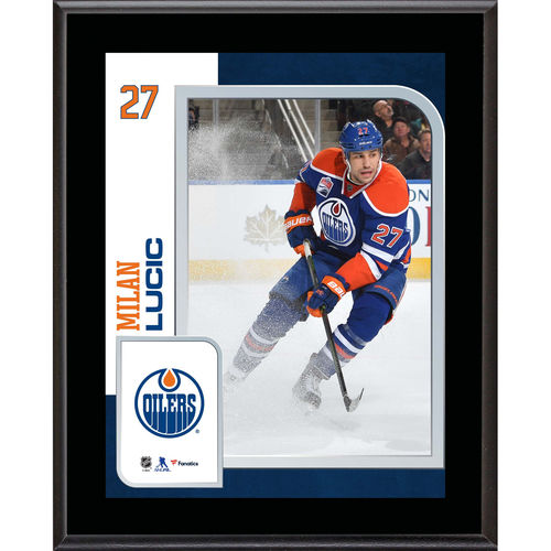 "Milan Lucic Edmonton Oilers 10.5"" x 13"" Sublimated Player Plaque - No Size"