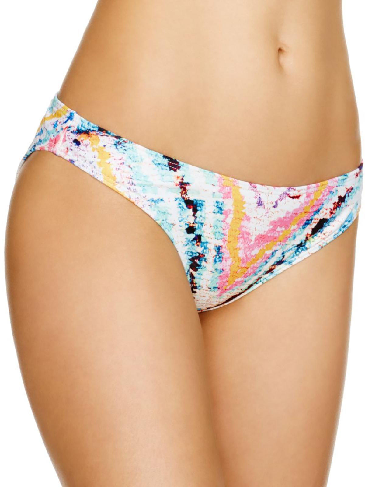 Mara Hoffman Womens Printed Cheeky Swim Bottom Separates