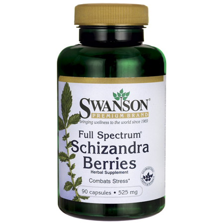 Full Spectrum Wild Berry (Swanson Full Spectrum Schizandra Berries 525 mg 90)