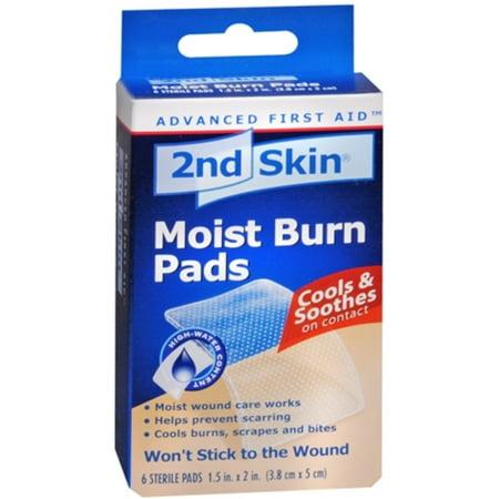 Skin Pads (Spenco Medical 2nd Skin  Moist Burn Pads, 6)