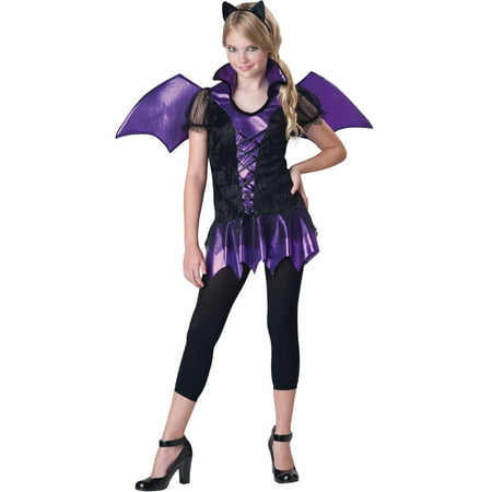 Bat Reputation Costume Dress Tween - Tween Steampunk Costume