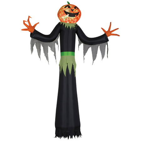 Kaleidoscope Giant Airblown Pumpkin Man Halloween Decoration (Halloween Pumpkins To Carve)