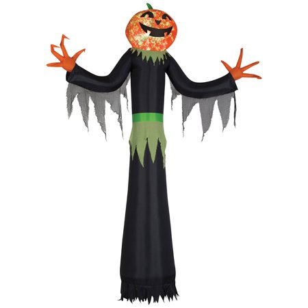 Kaleidoscope Giant Airblown Pumpkin Man Halloween Decoration - Halloween Singing Pumpkin Faces