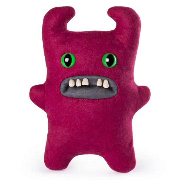 Fuggler Funny Ugly Monster 9 Sir Horns A Lot Red Plush Creature With Teeth For Ages 4 And Up Walmart Com Walmart Com