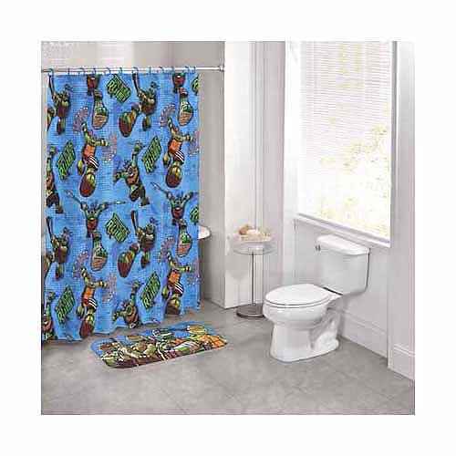 nickelodeon teenage mutant ninja turtles 14 piece bath set With tmnt bathroom set