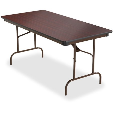 - Iceberg, ICE55214, Premium Wood Laminate Folding Table, 1 Each