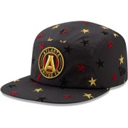 Atlanta United FC New Era Star Scatter Camper Adjustable Hat - Charcoal - OSFA