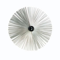 "10 Inch Flat Wire Brush For Viper, For 8"" Flue"