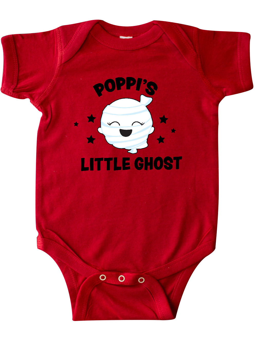 inktastic Cute Poppis Little Ghost with Stars Baby T-Shirt