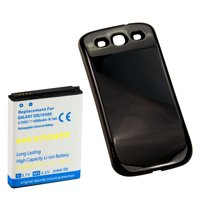 f2e8a98fcf4 Product Image 4500mAh Extended Battery, Black Door For Samsung Galaxy S3  SIII i9300