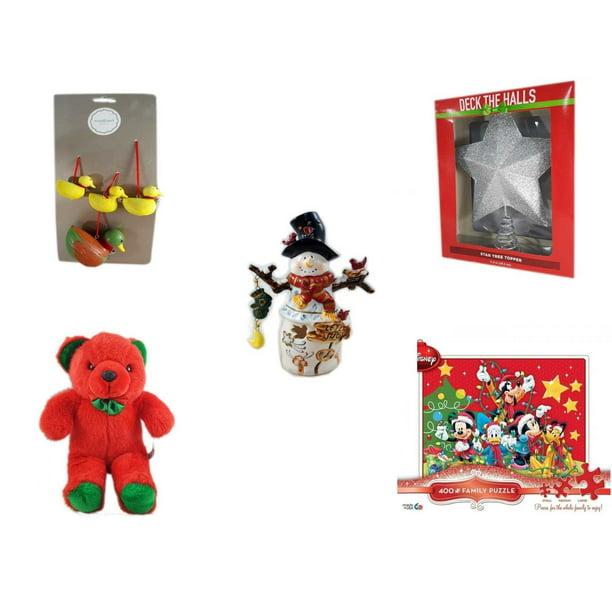 Martha Stewart Christmas Tree Topper: Christmas Fun Gift Bundle [5 Piece]