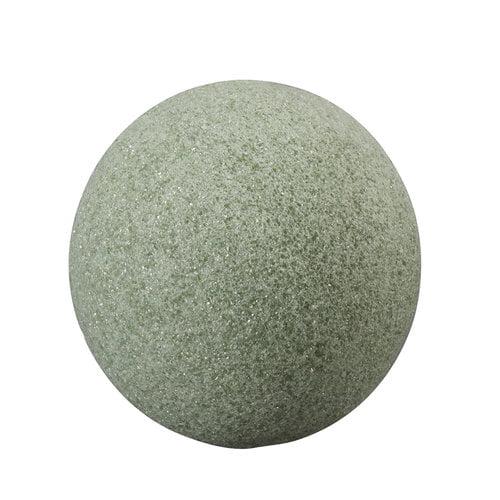 """FloraCraft Design It Styrofoam 6"""" Green ball, 1 Each"""