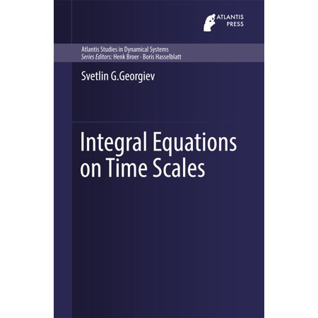 Integral Equations on Time Scales - eBook