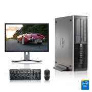 """Refurbished - HP DC Desktop Computer 2.3 GHz Core 2 Duo Tower PC, 2GB, 80GB HDD, Windows 10 Home x64, 17"""" Monitor , USB Mouse & Keyboard"""