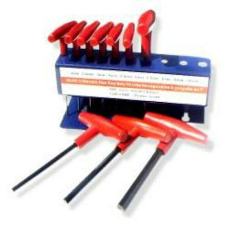 10 Pc T-handle Allen Wrench Set -
