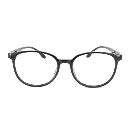 Eye Buy Express Prescription Glasses Mens Womens Black Trendy Retro Style Reading Glasses Anti Glare (Trendy Glasses For Men)