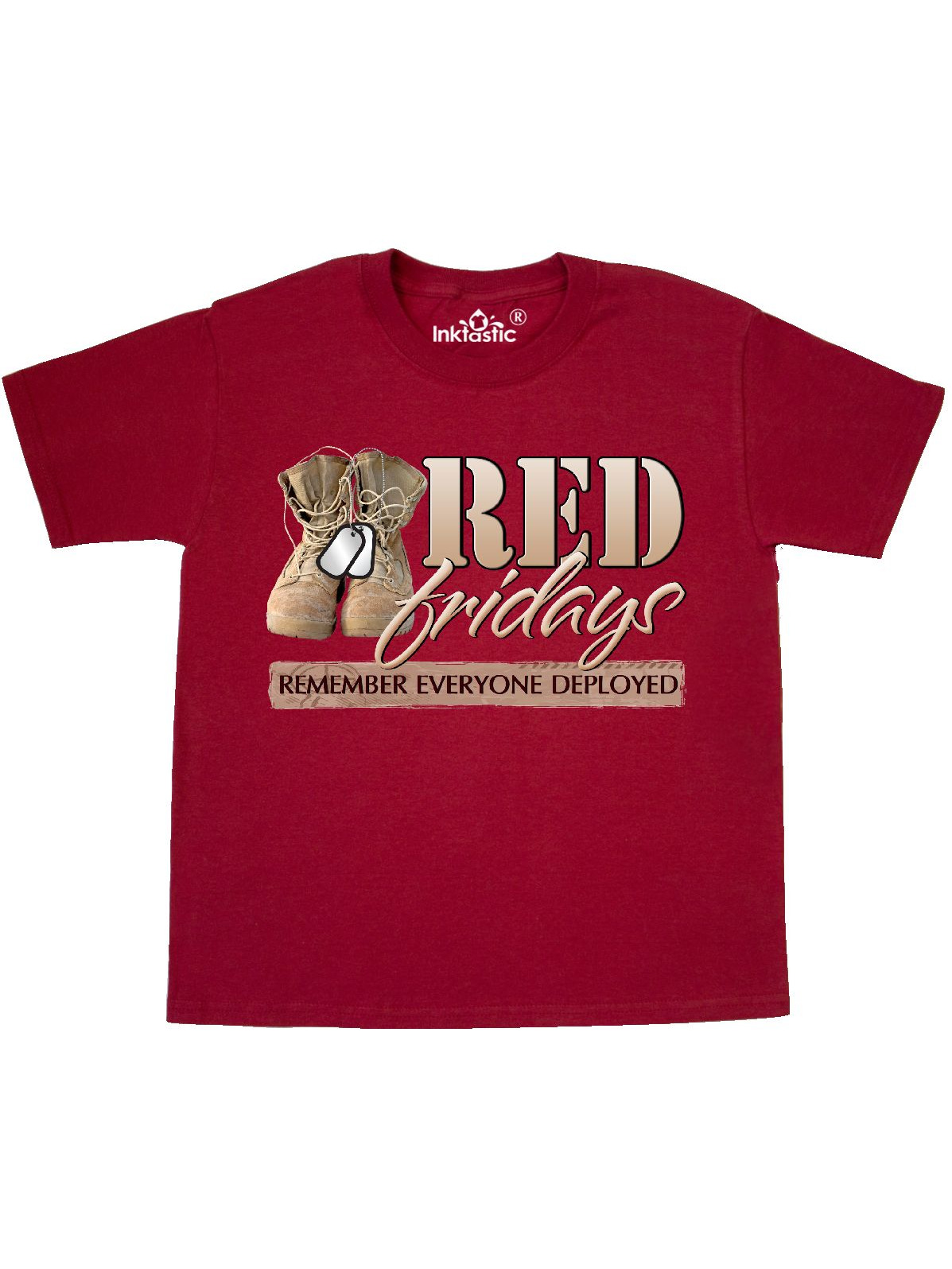 Red Friday Remember Everyone Deployed Newborn Baby Girl Boy Bodysuit Jumpsuit Short Sleeve Bodysuit Tops Clothes