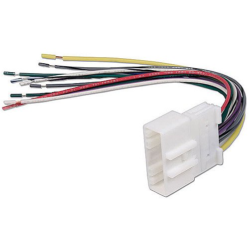 car radio stereo wire wiring harness to factory scosche nn04b 2007 up nissan car stereo wire harness connector  2007 up nissan car stereo wire harness