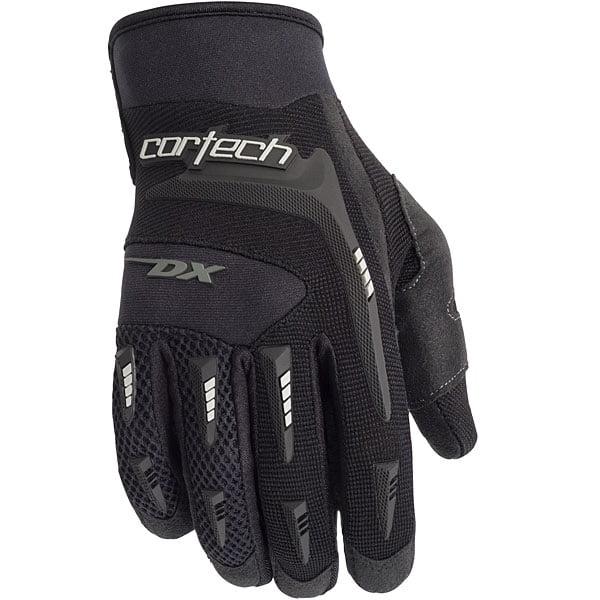 Cortech DX 2 Youth Textile Gloves Black