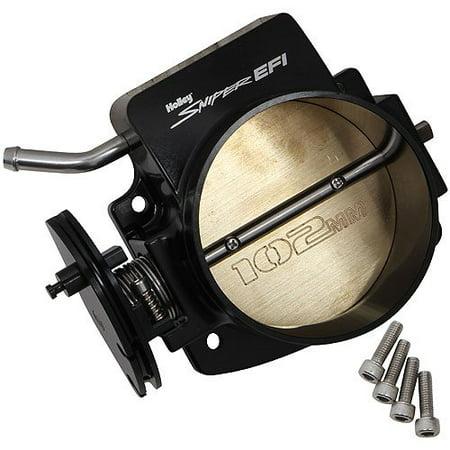 Billet Aluminum Throttle Body - Holley 860005-1 Sniper EFI Throttle Body LS Engines Accepts GM Factory IAC & TPS