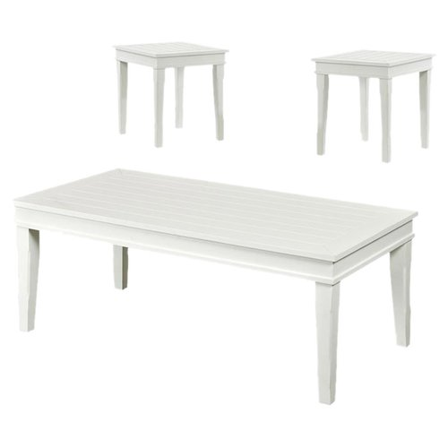 Klaussner Winchester 3 Piece Coffee Table Set