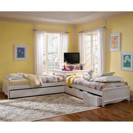Lea Haley Corner Bed Collection - Walmart.com