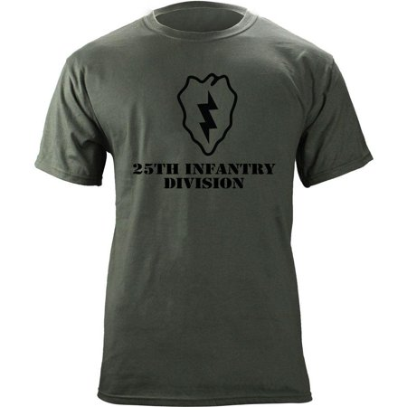 Army 25th Infantry Division Subdued Veteran T-Shirt