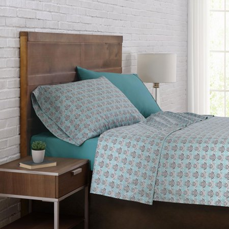 Brooklyn Loom 12-Piece Cal King Sheet Sets In Aqua