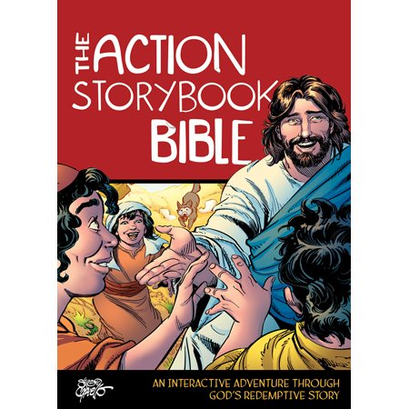 Fiery Furnace Bible Story (The Action Storybook Bible : An Interactive Adventure through God's Redemptive)
