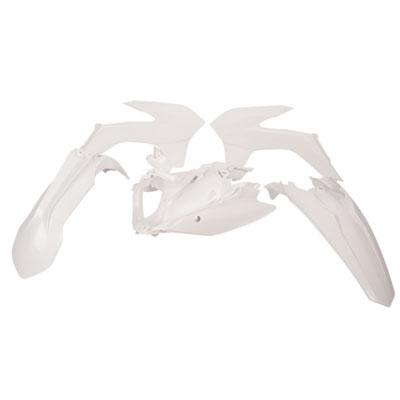 Acerbis Full Plastic Kit  White