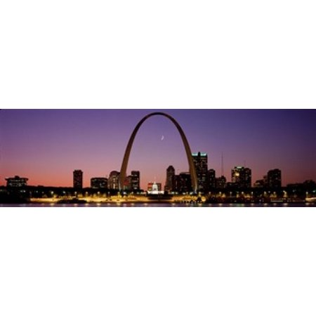 St Louis MO USA Stretched Canvas - Panoramic Images (36 x (Pool Table Stores In St Louis Mo)