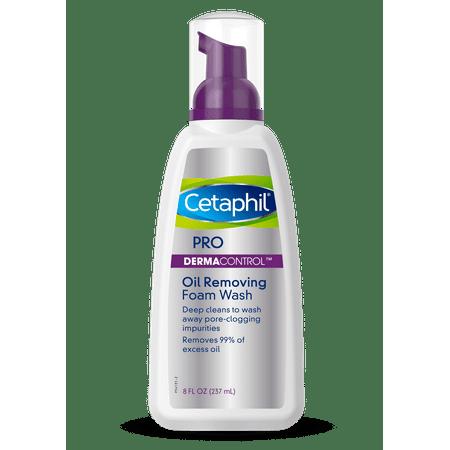 Cetaphil Pro Dermacontrol Oil Removing Foam Wash, Face Wash For Oily Skin, 8 Oz ()