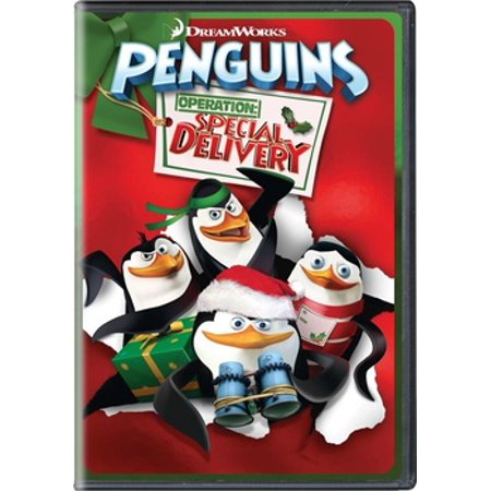Penguins of Madagascar: Operation Special Delivery (DVD) - Madagascar 3 Characters