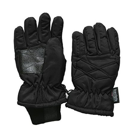 Kids Thinsulate Waterproof Ski - Black Gloves For Kids
