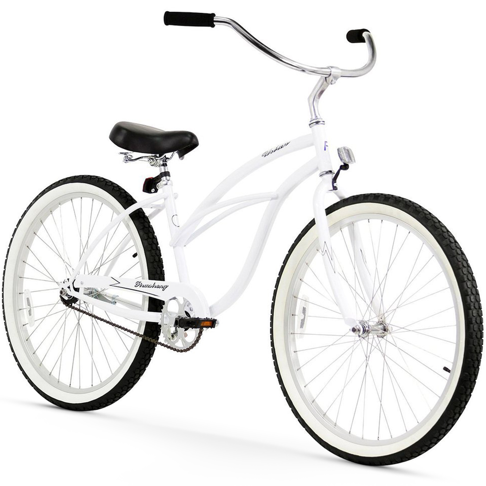 "Firmstrong 26"" Women's Urban Lady Beach Cruiser Bicycle, 1, 3 and 7 Speed"