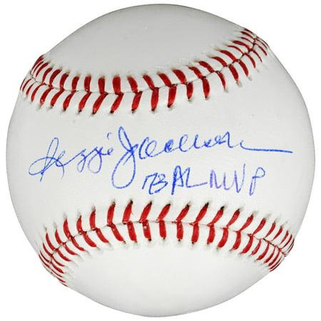 Reggie Jackson New York Yankees Fanatics Authentic Autographed Baseball with 73 AL MVP Inscription - No Size 1964 Al Mvp Autographed Baseball