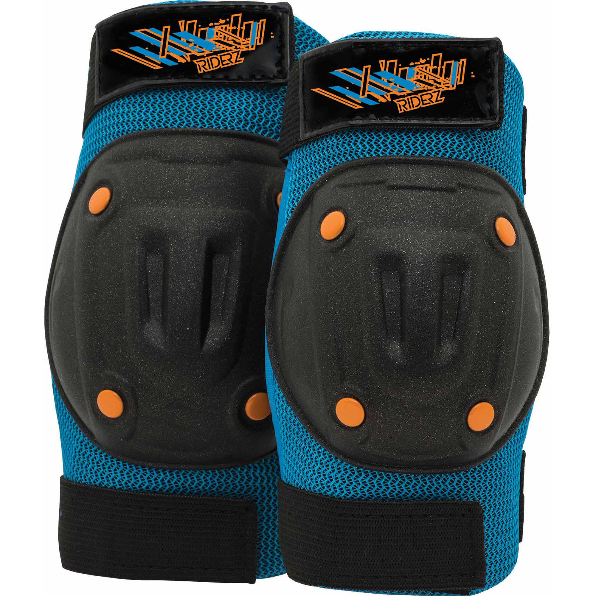 Bell Riderz Street Shred Pads, Boys, Black