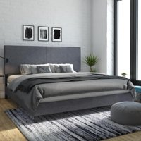 DHP Janford Upholstered Bed, Multiple Sizes and Multiple Colors